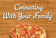 Connect with Your Family Around the Dinner Table / Catching up at the end of the day has never been more important. Never run out of fun topics of conversation with these Family Finest convo starters!