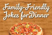 Family-Friendly Jokes For the Dinner Table / Engage in family-friendly dinner conversation with funny jokes that your kids will love! Great laughs and Family Finest pizza are what the best family memories are made of!