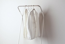+ book & clothes rack