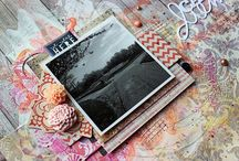 * Scrapbook layouts * / So much inspiration out there, collected here :O)