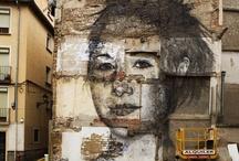 trompe l'oeil & street art / by Annick Thévenot