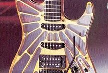 ♥ Guitar, guitar everywhere ♥ / mainly electric guitar + art and other similar stuff
