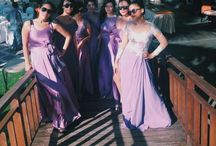 Purple Kebaya / Best Friend Wedding at Klapa, Bali, Indonesia.