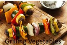 Grilling Vegetables / Don't like meat or want to add something to your meal? Grilled vegetables can be a great addition. Not only do they taste fresher, but by plank grilling vegetables, you can get that unmistakable smoked taste. Plank grill vegetables and they will stay together and will have none of those black marks that come with using a grill, either. This might get everyone to eat them, even your picky kids!