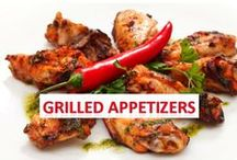 Grilled Appetizers / Grilling has come a long way from hamburgers and hotdogs. People nowadays grill everything, even appetizers! Grilled appetizers can include fruits, vegetables, meats, and more to make your cookout even more elegant. Whether plank grilling appetizers or regular grilling, you will be amazed at the different appetizers you can create with your grill.