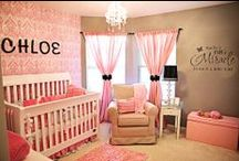 Baby Room / LOVE this look!  What a beautiful baby room!