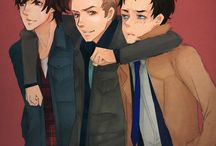 Supernatural / Love my boys!!!! :) / by DyingLight13 (Sydney Bates)