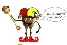 Tiny the Acorn / All about Camp Acorn's mascot Tiny the Acorn! He loves trying new things, making friends, and having fun!