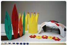 Pro děti, For children / Kreativní nápady pro děti, do pokojíku, na sebe. Ideas for children clothing and decorating.