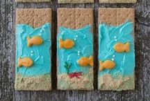 ♥️ Kids cute food ideas / Cute food ideas to make eating more fun! A great collection of the best creative, fun and silly ways to present and eat food for children. For more parenting tips visit: AnxiousToddlers.com