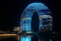 Edificios futuristas. / #CReOEstilos