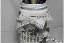 Reciclagem - Potes