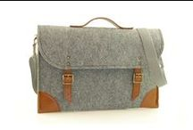 BAGS | Grey& Brown Bags