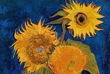 Vincent´s Flowers / Flaming flowers that brightly blaze (Don McLean: Starry, Starry Night)