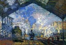 Monet´s Great Impressions / Artworks of Claude Monet