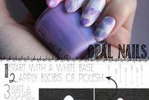 Nail Art Tutorials (Nechtové postupy) / Jednoduché aj zložité nechtové postupy