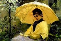 Parasol (a Woman With)
