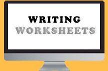Writing - Worksheets / writing, books, worksheets, creative, fiction