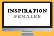 Inspiration - Females / Pictures of people. Women. Females. Photography.