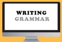 Writing - Grammar / writing, books, grammar, creative, fiction