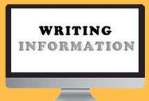 Writing - Information / writing, books, information, creative, fiction