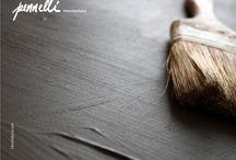 Pennelli / Pennelli è un progetto di gres porcellanato per 14oraitaliana, è un omaggio alla cromaticità e matericità delle opere del grande maestro Giorgio Morandi.