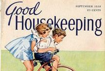 Vintage Good Housekeeping Magazine Cover ~ / by Laura Slade
