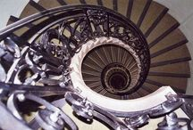 Steps and stairways........sweeping, spiral or simple / by Lyonesse (lyonesse@live.fr)