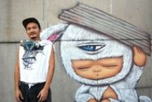 ALEX FACE by WIDEWALLS / Patcharapol Tangruen, also known as Alex Face, is a well-known and influential graffiti artist in Thailand.