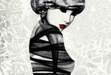 HUSH by WIDEWALLS / HUSH is a British artist who merges various street art approaches with traditional art practices to create complex and original work.