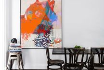 Art brings a room to life! / Art can transform a room, giving personality and impact