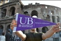 UB Around the World! / Where in the world are UB students!