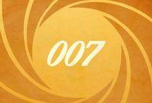 007 illustrationer / Digital kunstneren / designer og illustrator Mike Mahle har udviklet, denne samling af James Bond inspirerede plakater tager ikoniske elementer fra 007 film gennem årene og udnytter dem inden for hver plakat.  Se flere fede plakater: mikemahle.deviantart.com/gallery