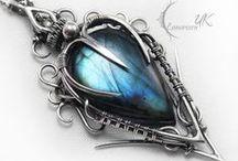 ツ ♛ Jewelry & Accesories ♛ ツ / OOOoo Pretty!!! ( No Nope I'm not girly dang it!!! Sigh maybe a little bit then...) ↓ Ok had too many trinkets, jewelry and accessories accumulating on boards so now they get their own board!! Typically not common trendy stuff...just nifty things I like and would wear if I could!