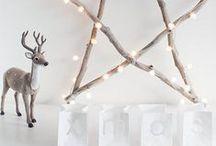 Noël, mon amour ⭐️ / D.I.Y, déco, sapin, lumières, table de fête... La plus froide saison de l'année, celle qui nous illumine le plus.