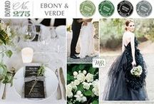 ♥ Wedding palettes ♥ / Get your wedding palette and colours inspiration here!  / by She Fox Invitations