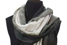 Scarves / Different styles of women's scarves