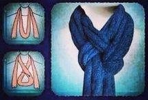 A million ways to tie a scarf!