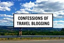 Travel blogging tips / This is a random collection of travel blogging articles.  Some are how to blog, some are social media tips and some are different ways to monetize travel blogging.