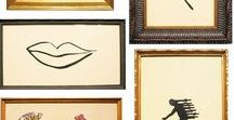 Framing Expert / Framing and hanging can make all the difference to your art collection. Plenty of ideas coming here...