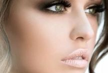 Wedding makeup / Feel beautiful with these beautiful makeup looks. Find tips to creating the look you want on your special day. Make a statement with the perfect eye shadow and extenuated lips in every photo. Learn how to create the perfect look for every style.