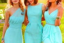 Bridesmaid dresses / Beautiful dresses in every style and color for your bridesmaids. Find the unique look that will fit your wedding- romantic colors, boho designs, rustic style, classic dresses short or long. The perfect dress awaits.