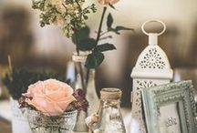 Vintage weddings / Celebrate your special wedding day in a romantic vintage style. Flowers, decorations, centerpieces, aisle settings, reception tables, guest sign in ideas. Endless inspiration to cover every detail.