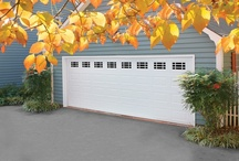 Traditional Steel Garage Doors / Tradition never goes out of style. Amarr offers four traditional panels designs in various colors with multiple decorative window options, allowing you to design the perfect garage door for your home.