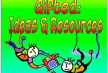 All About Gifted: Ideas and Resources / A resource board ~posters, references, blog posts, ideas for teaching/reaching gifted learners~   (TpT teachers- Please help make this a great resource board for teachers by including a mix of blog posts, freebies and helpful articles, in addition to your resources.  Also, NO repins. Thanks!