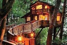 Дома и домики / Большие и маленькие, роскошные и уютные, восхищающие и вызывающие улыбку...