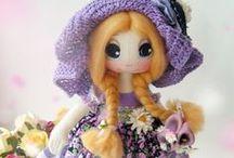 Рукоделие. Авторские куколки / Эксклюзивные авторские куколки, сделанные вручную мастерицами.  Размещено с разрешения авторов. Захотелось поделиться