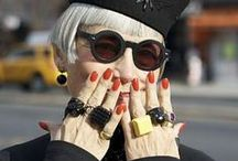 """Стильный возраст / Фото сессия знаменитого фотографа из Нью-Йорка Ари Сет Коэна (Ari Seth Cohen). """"Леди и джентльмены кому за 70"""".  А также другие красивые и молодые люди за 40...., стилем которых я восхищаюсь..."""