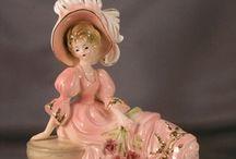 Фарфор. / Фарфоровые статуэтки и красивые вещицы из фарфора...