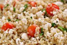 Quinoa Recipes / by Hannah Victoria